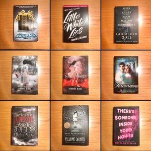 5/$15 supernatural/thriller books!